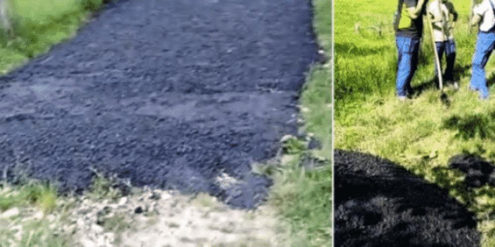 Afaceristul Florin Păcioianu este patronul companiei care a asfaltat direct pe iarbă la Mihăești