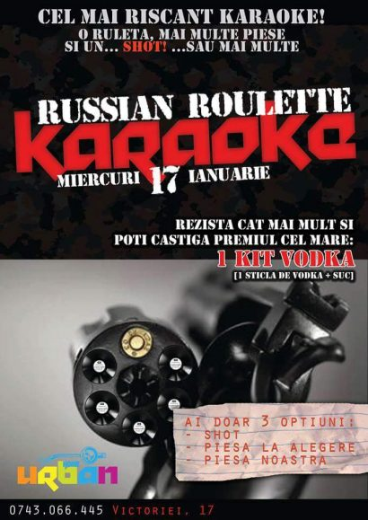 Russian Roulette Karaoke în Club Urban Home