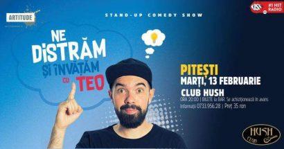 Stand Up Comedy Show cu Teo în Club Hush