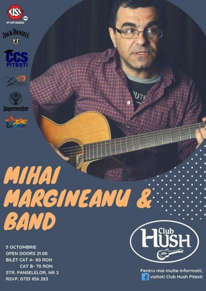 Concert Mihai Mărgineanu în Club Hush