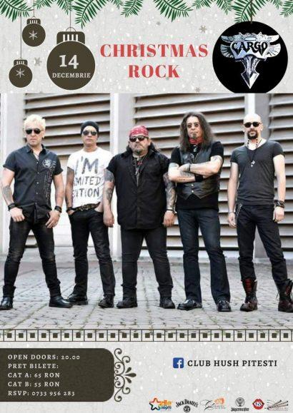 Concert Christmas Rock cu trupa Cargo în Club Hush