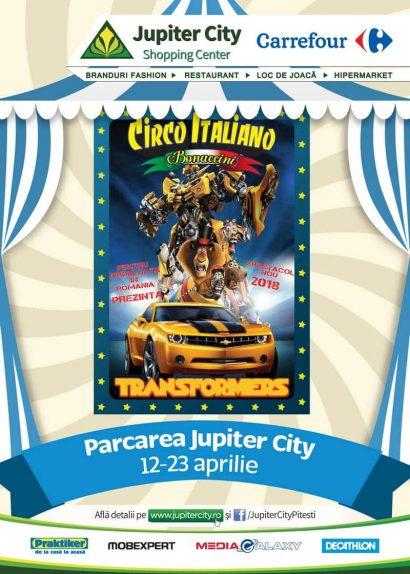 Circul Bonaccini vine la Jupiter City