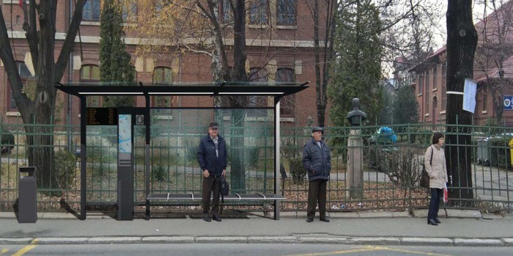 99 de stații de autobuz vor fi modernizate