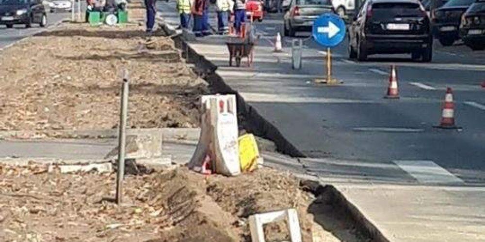 Calea București va avea restricții de circulație