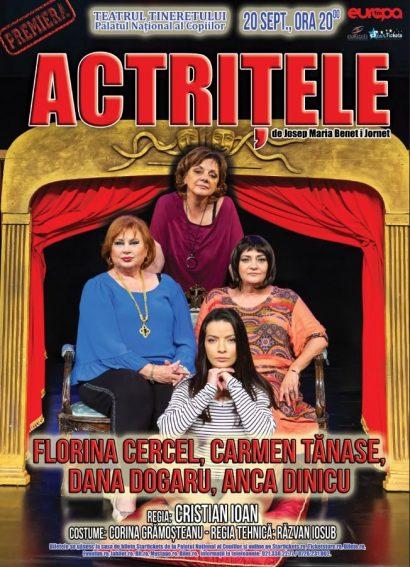 """Spectacol de teatru, """"Actrițele"""" la Casa de Cultura a Sindicatelor"""