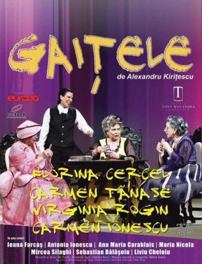 """Spectacol de teatru """"Gaițele"""" la Casa de Cultură a Sindicatelor"""