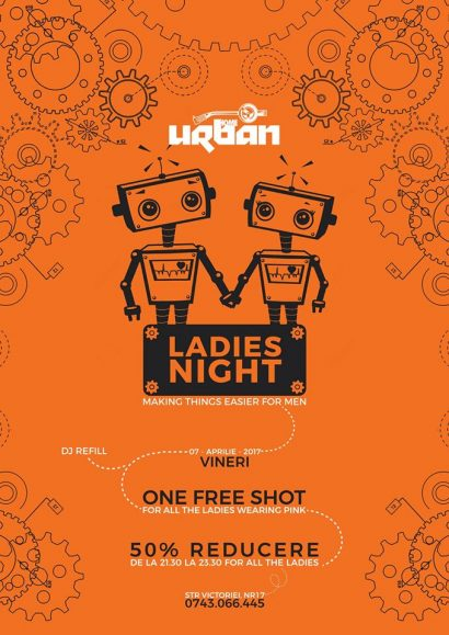 Petrecere Ladies' Night cu ALLIN în Club Urban Home