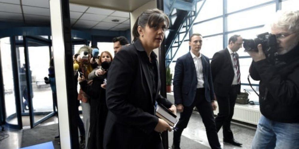 Laura Codruța Kovesi audiată pentru luare de mită și abuz în serviciu