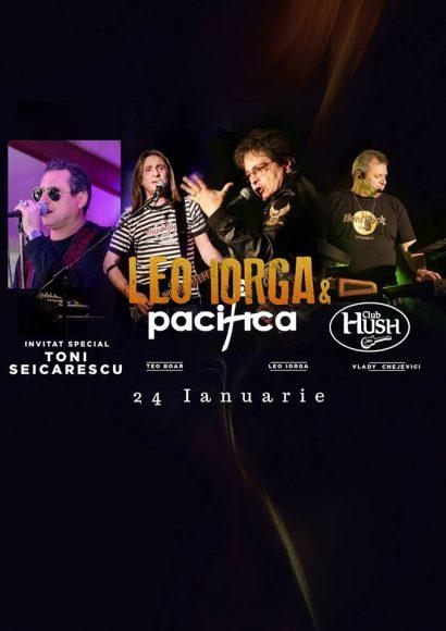 Concert Leo Iorga & Pacifica, Toni Seicarescu în Club Hush