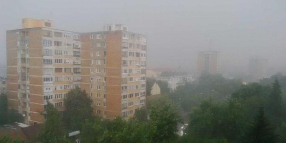 Se schimbă iar vremea! Ploi abundente în Argeș!