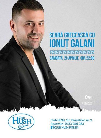 Seară grecească cu Ionuț Galani în Club Hush