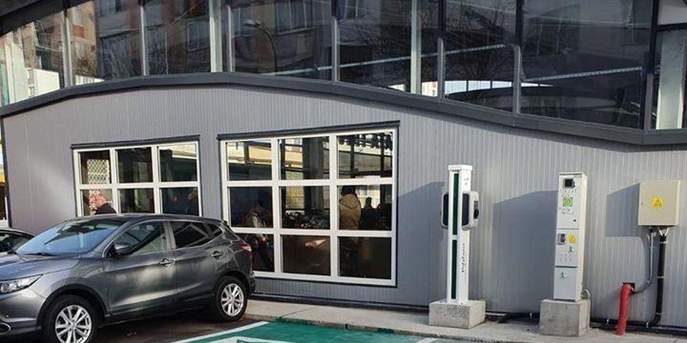 Nou, în Trivale: staţie electrică pentru maşini