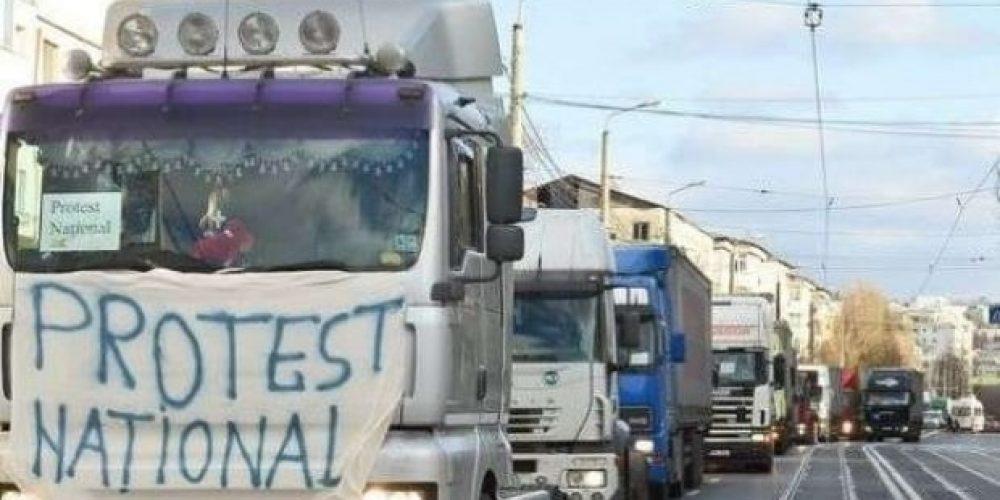 Transportatorii amenință cu proteste ca în Franța
